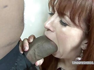 Redhead hottie Triplet Berth takes primarily a renowned unscrupulous horseshit