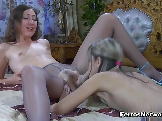 Pantyhose1 Video: Emily B together at hand Gina Gerson