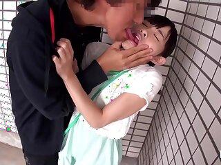 Feeble-minded Japanese Schoolgirl