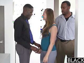 BLACKED Teen Jillian Janson Tries Artful Interracial Trio