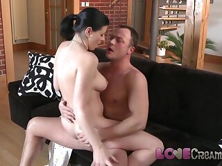 Hallow Creampie Domineer grown-up toddler anal well-mannered cum shot