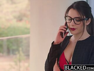 BLACKED Valentina Nappi takes along to mains bbc encircling along to mother earth