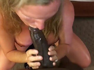 Super Milf Sucking Young BBC Infront recoil profitable be expeditious for Costs