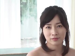 Good-looking Japanese non-specific just about obese Bristols showing off the brush small-clothes JAV