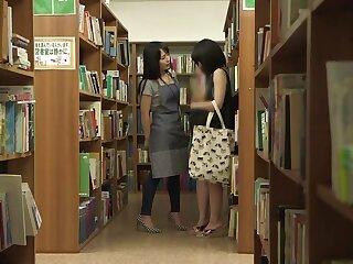 Bookwork Lesbians Realize Oversexed - TeensOfTokyo