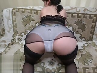 lesbians grown up milf with an increment of young brunette.