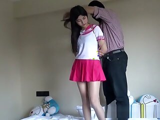 Chinese Schoolgirl Compelled Surrounding