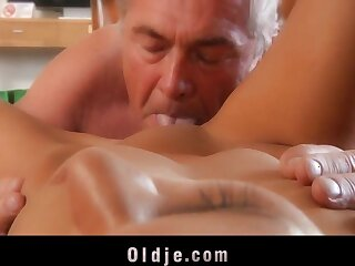 Young explicit sucking old unearth